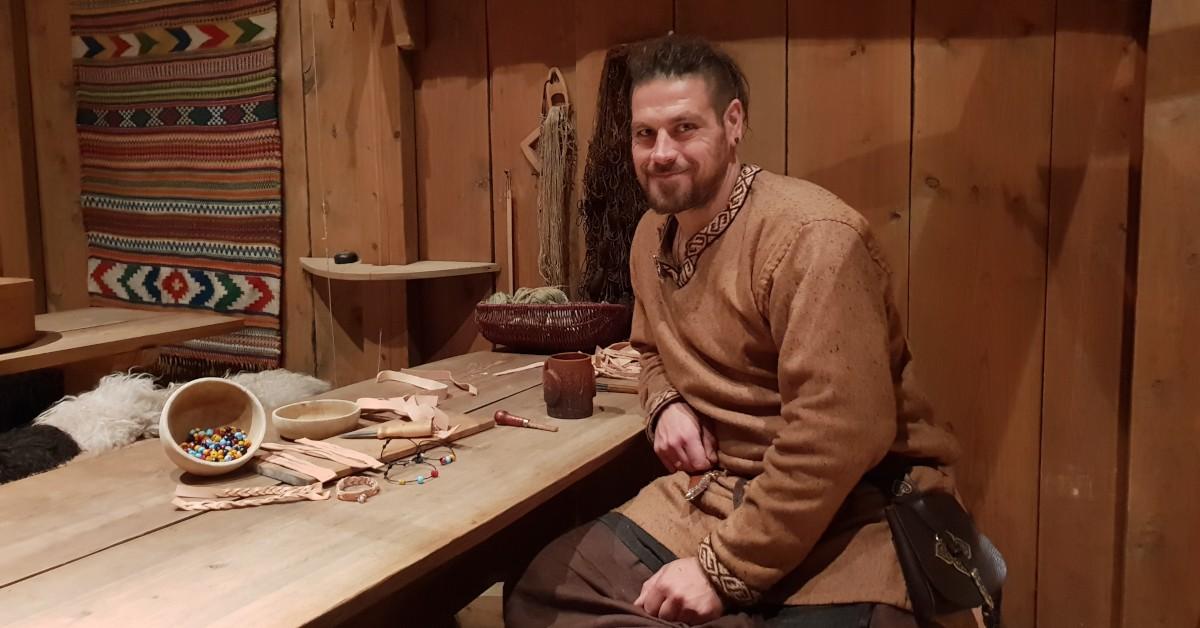 Foto: MHE/Lofotr Vikingmuseum