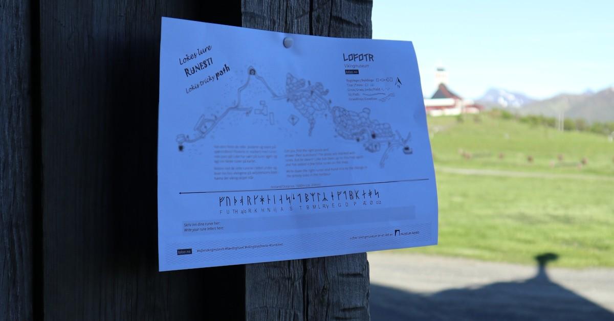 Lokes Tricky Rune Path 2020 - B. Foto: MHE, Lofotr Vikingmuseum