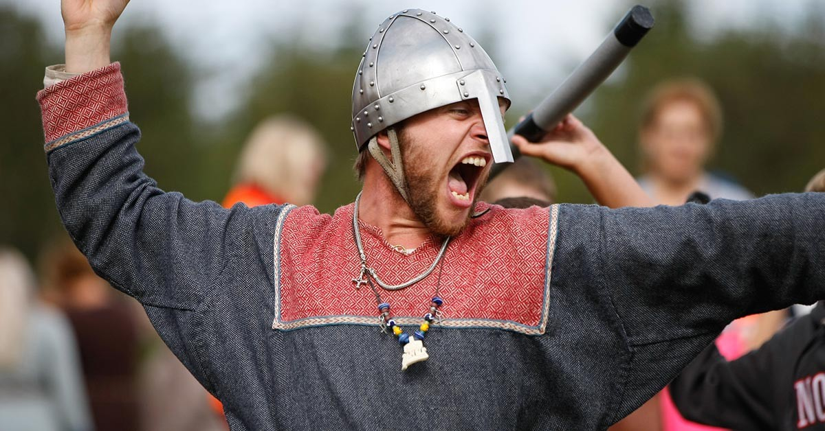 Viking games and fun for children and adults