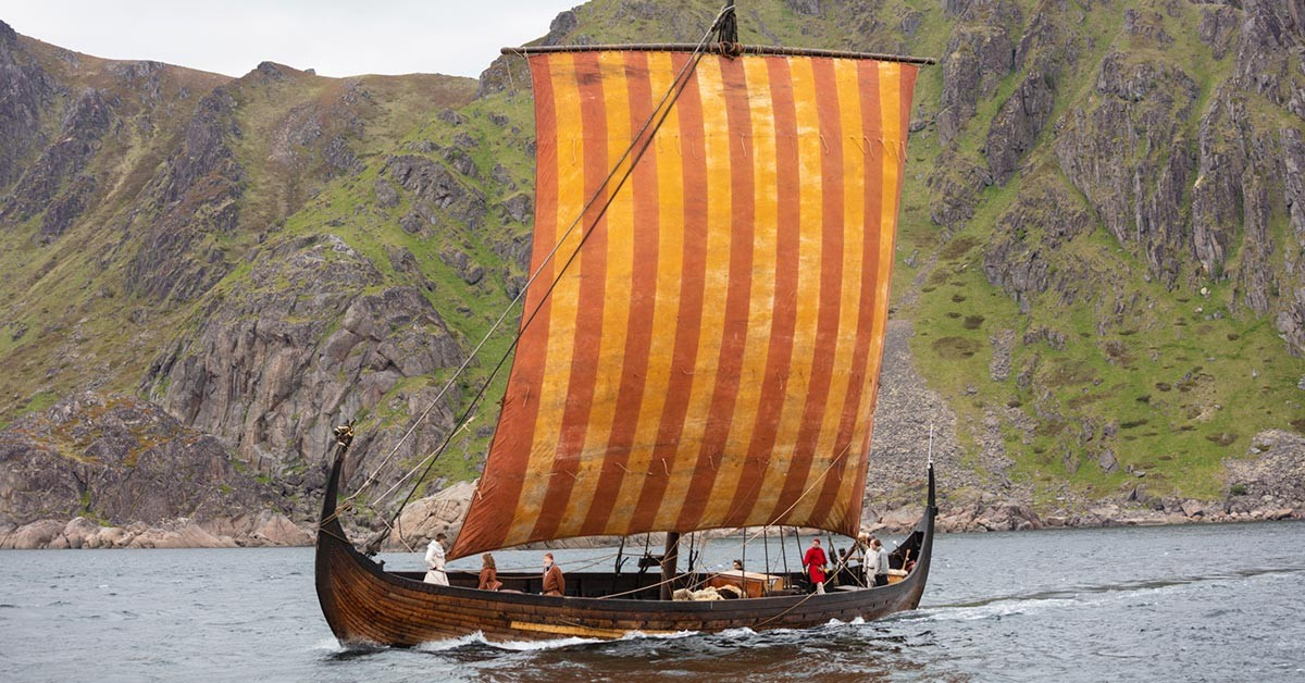 Lofotr Viking ship is getting a new rig (Wed 29th May - June 4th)
