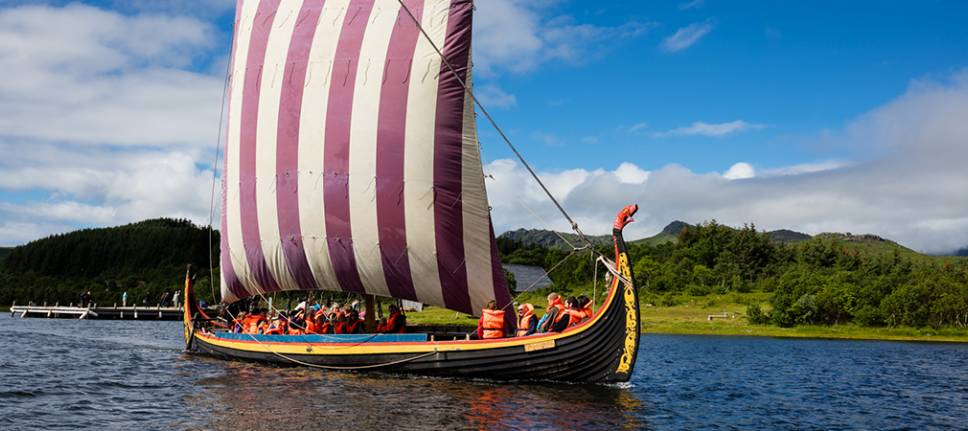 Sail or Row a Viking Ship